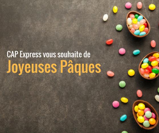 CAP Express se mobilise à Pâques !