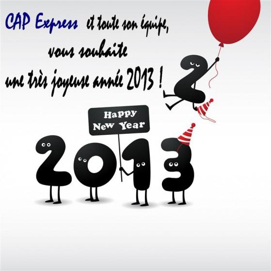 CAP vous souhaite une Bonne Année !